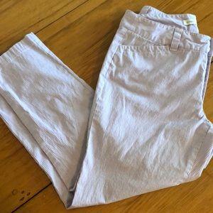 Christopher & Banks cotton pants lavender 8
